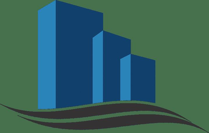 B-D Building Blue