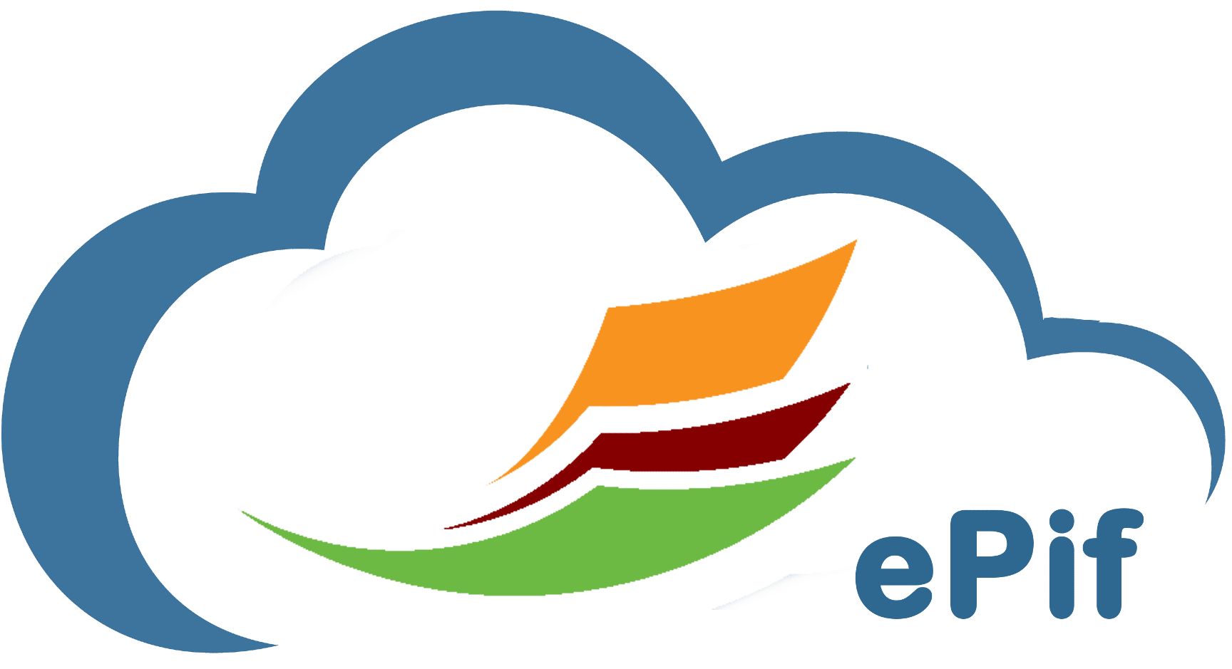 ePif Logo Blue Cloud