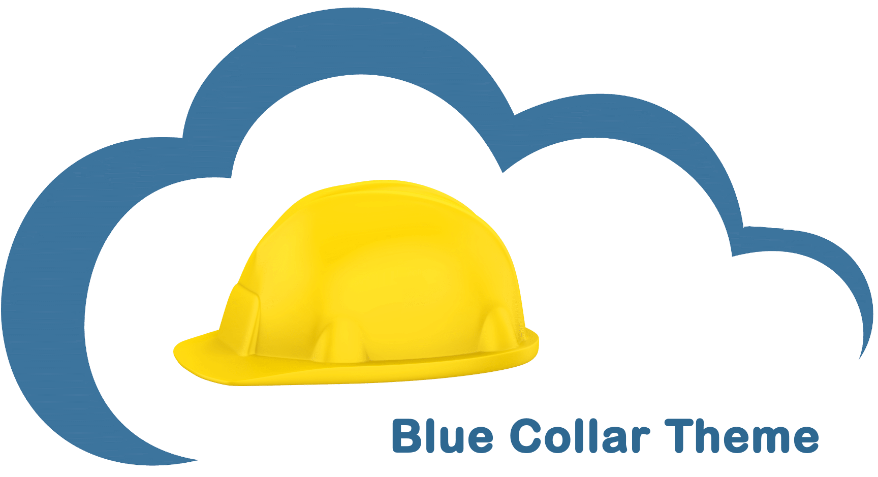 Blue Collar Theme cloud icon
