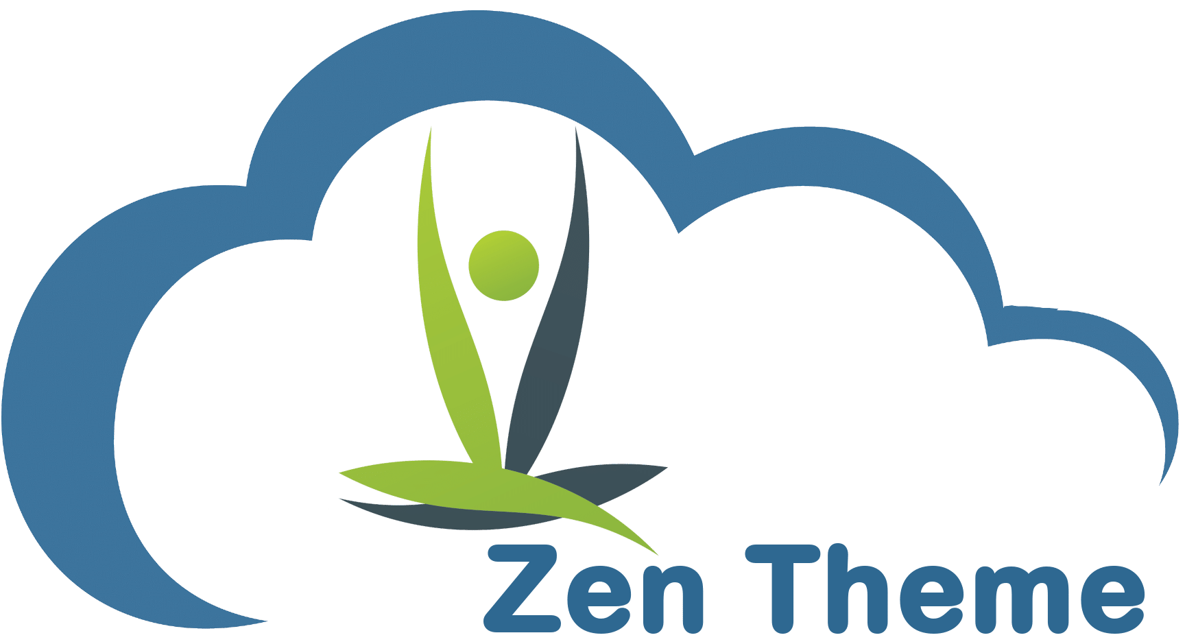 Zen Theme blue cloud icon